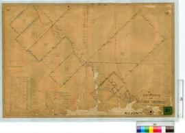 Locations, Sheet 3, Balgarup River by A.C. Gregory Fieldbook 9, and later additions [scale: 16 ch...