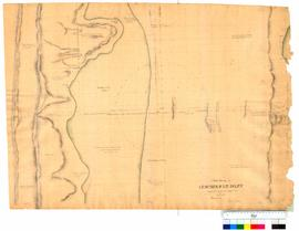 Chain survey of the Leschenault Inlet by Thomas Watson, sheet 12 [Tally No. 005171].