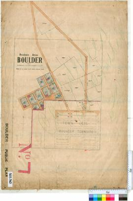 Boulder Sheet 7 [Tally No. 503760].