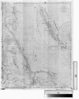 West Coast of Australia from Swan River to Shark Bay from the surveys of Captains Grey, Wickham &...