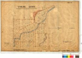 Sheet 5 Stirling Estate (subdivision of Location 41, see OP 225) by F.S. Brockman, W.J. Rae &...