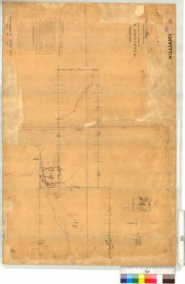 Sheet 4 - Williams River Locations O, Pt. D, T, W, 147. S.325 (T now part of 13967, D now part of...