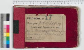 J.H.M. Lefroy Field Book No. 17