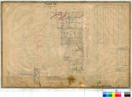 Northampton 6/3. Plan of Lots & Roads in Northampton Township. Lots bounded by Harney, Hamers...