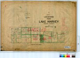 Lake Harvey Sheet 1 [Tally No. 504617].