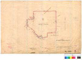 Menzies 91/9. Plan of part of boundaries of Townsite of Menzies showing Lining Leases and Reserve...