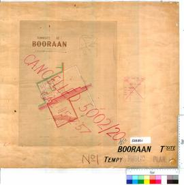 Booraan Sheet 1 [Tally No. 503801].