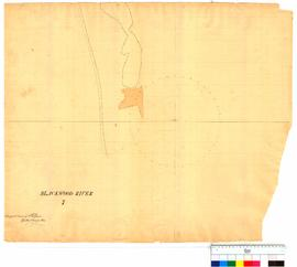 Survey of Blackwood River, Sheet 7 by A. Hillman [Tally No. 005009].
