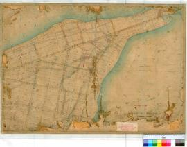 Perth 18H (South Perth). Plan of South Perth showing Lots & Streets from Melville Terrace to ...