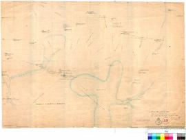 J. Forrest - rough plan of the country eastward of Champion Bay. Compiled from the exploration ro...