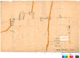 Folio XXXI. Survey showing boundary marks of grants near Darling Range. J.W. Gregory.