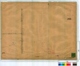 Subdivision of 256: E38 (& others) West of Southern Railway by C.R. Fenwick [scale: 30 chains...