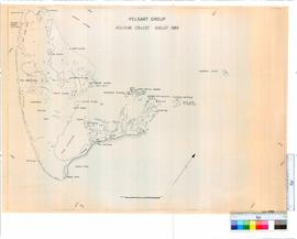 Pelsart Group, Aquinas College, August 1966 (nautical map).