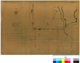 Folio XIV. Plan showing area around Cruise's [Cruse's] Mill. P.L.S. Chauncy. [Lands Dep...