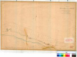 Perth 18N. Plan showing Bazaar division of Perth to accompany arrangements detailed in Surveyor General's memo of 20/6/1833 to Lieut. Governor Irwin [p. 242 or Surveyor General's Query Book] [unsigned] [scale: 2 chains to an inch, Tally No. 005765].