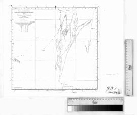 Tracks of HM Bomb Vulcan between Timor & New Holland by P. Heywood & Chart of HMB Britoma...