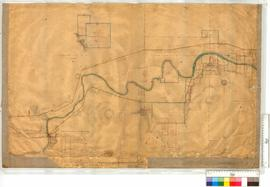 Vicinity of Yardarino Reserve and the Irwin River by A.C. Gregory and later additions to 1879 [sc...