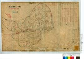 Portion of Denmark Estate lots 333-381 by G.V. Welsh, Fieldbooks 47, 57, 60, 52 [scale: 10 chains to an inch].