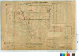 Locations 15642-15649, 15128 & 14265 by A. Denny, Fieldbooks 149 and 157 [scale: 20 chains to...