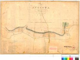 Augusta 28B. Plan of the Town of Augusta showing the proposed alterations in the Allotments by A....