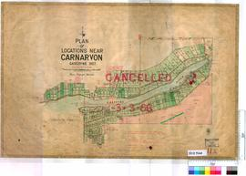 Carnarvon Sheet 11A [Tally No. 503964].