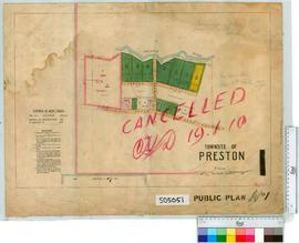 Preston Sheet 1 [Tally No. 505051].