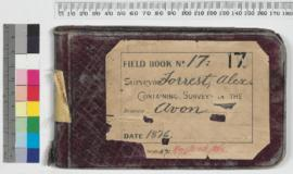 A. Forrest Field Book No 17