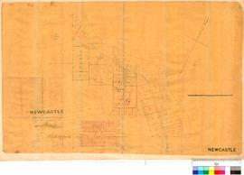 Toodyay Area, Map showing lots along Avon River. Shows government buildings and land held by L Lu...