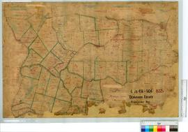 Portion of Denmark Estate Lots 451-504 and 832 by K.A. McWhae [scale: 10 chains to an inch].
