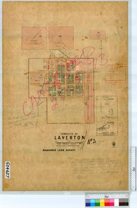 Laverton Sheet 2 [Tally No. 504627].