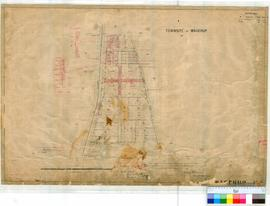 Wagerup 185. Plan of Townsite of Wagerup showing Lots 1-27 and S1-S15 (now 28-42) by H. Gladstone...