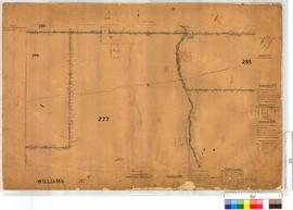 Portion WA Land Co. Location 277 - N.E. corner by W.H. Angove, vicinity of Wagin townsite [scale: 30 chains to an inch].