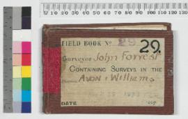 Field Book No. 29. Surveyor John Forrest. Surveys in the districts - Avon and William