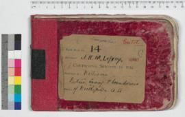 J.H.M. Lefroy Field Book No. 14