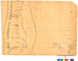 Chain survey of the Leschenault Inlet by Thomas Watson, sheet 13 [Tally No. 005172].