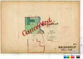 Balbarrup Sheet 2 [Tally No. 503705].