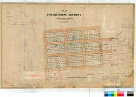 Ravensthorpe 211. Plan of Ravensthorpe Townsite (Phillips River Goldfield) showing Lots 1-157 and...