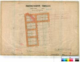 Ravensthorpe 211/1. Plan of Ravensthorpe Townsite - additional Lots (Phillips River Goldfields) [...