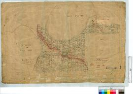 Locations 35-287 Vicinity of Spencer or Pink Lake and Lake Warden by A.W. Canning, 1897 [scale: 1...