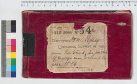 J.H.M. Lefroy Field Book No. 54