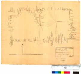 Plan of location 49 Plantagenet surveyed and drawn by D. Smith [Tally No. 005290A].
