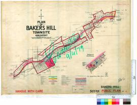 Bakers Hill Sheet 6 [Tally No. 503702].