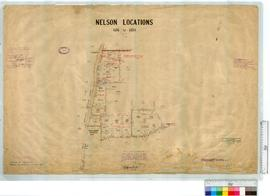 Locations 6216-6224. East of Bridgetown to Manjimup by E.H. Sutton, Fieldbooks 3, 5 & 6 [scal...