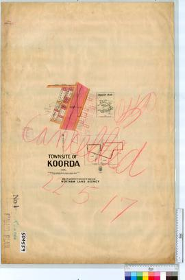 Koorda Sheet 1 [Tally No. 504559].