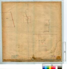 Reserve 846- 870, 396A, Police Reserve (Mt Barker) 2276, 156 and Reserve 849 (Quindabellup Reserve), surveyed by Evans, plotted by Forrest, Fieldbook2 [scale: 8 chains to an inch].