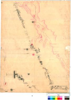 A. Hillman, Colonial Draftsman - Track from Kelmscott to the Murray, 1835 (Sheet 1).