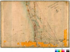 Geraldton 123/2. Geraldton, Champion Bay lots. C. Y. Dean. Adjustment by A. J. Wells, 1897 [scale...