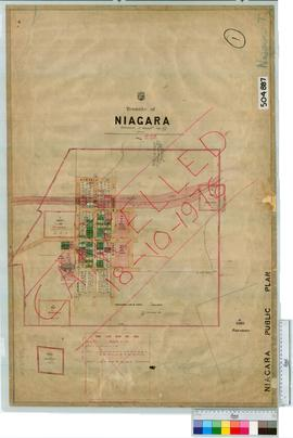 Niagara Sheet 1 [Tally No. 504887].