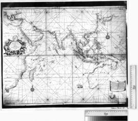 A New & Correct Chart of the Indian Sea from Cabo Bonea Esperanca to Japan [b/w photographic ...