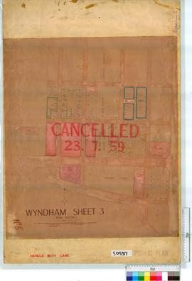 Wyndham Sheet 5 [Tally No. 505317].